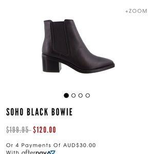 Tony Bianco Soho Boot in Black Albany - 7.5
